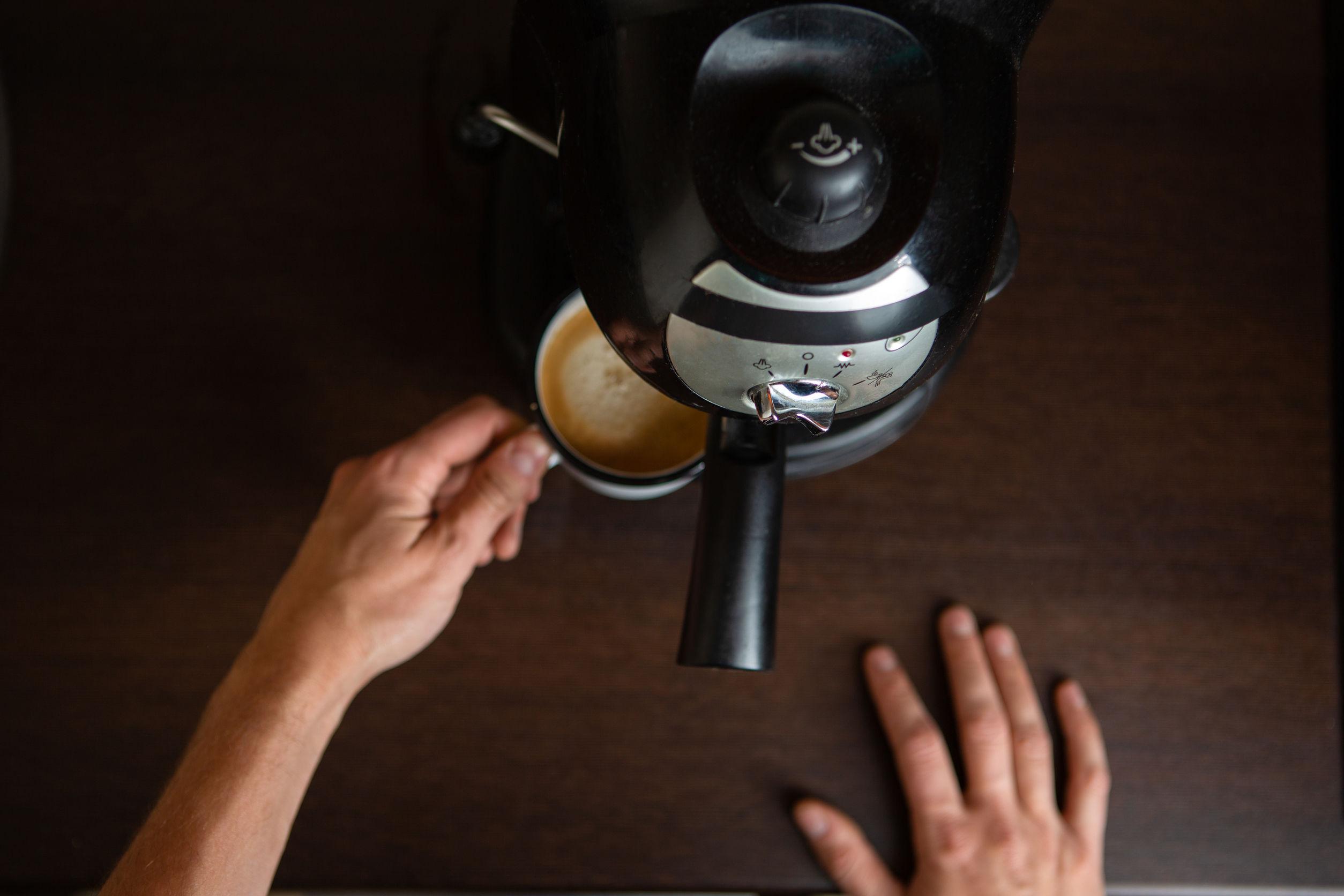 Kaffeemaschine Siebträger